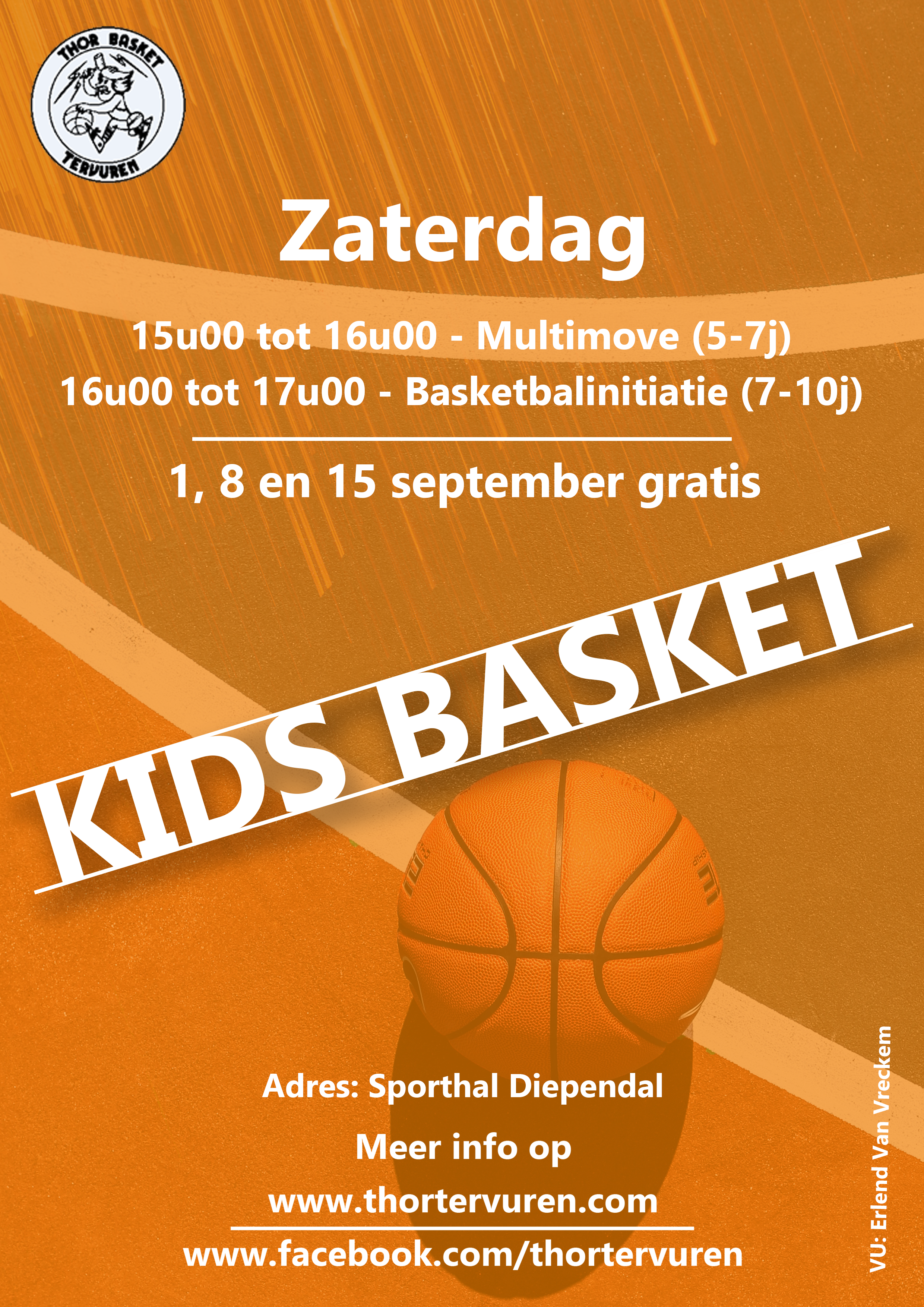 Affiche Kids basket 2018-2019